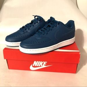 Nike | Women's 6.5 | Court Vision Low | Blue